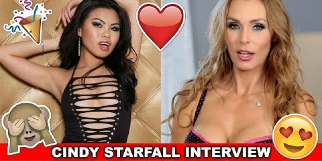 CINDY STARFALL Interview • Horrible Pick-Up Lines, Sex With Fans • EXXXOTICA 2016