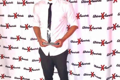 Ricky Johnson Wins Best Male Newcomer at Urban X Awards