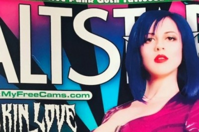 Larkin Love Wins at Altporn Awards & Scores Cover of Altstar Mag